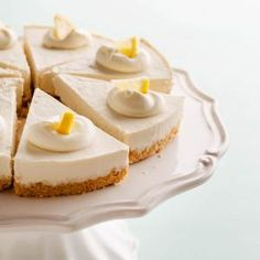 Healthy Lemon Meltaway Pie   health magazine Using nuts, cauliflower, oats, coconut-- super low sugar and 234 calories for a large slice!