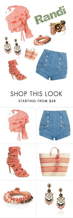 """""""Untitled #106"""" by kristinscandishop on Polyvore featuring Rosie Assoulin, Pierre Balmain, Daya, Mar y Sol, Chloe + Isabel, chloeandisabel, randi, kristinscandishop and blingiton"""