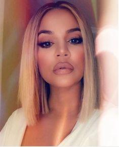 Kim Kardashian - Can Dru Hill make another album? I miss R & B music Stylish Haircuts, Thin Hair Haircuts, New Haircuts, Short Bob Hairstyles, Kourtney Kardashian, Khloe Kardashian Hair Short, Kardashian Family, Kendall Jenner, Dru Hill