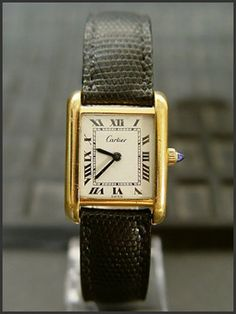 The Tank was created by Louis Cartier in 1917 and inspired by the new Renault tanks that he saw on the Western Front. The prototype watch was presented to General John Pershing of the American Expeditionary Force. The Tank has become one of the most highly coveted and copied wristwatches of all time, and has graced the wrists of such style icons such as Jackie Kennedy, Princess Diana, Andy Warhol and Yves Saint Laurent, amongst countless others.