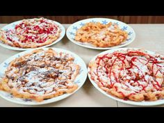 Frittelle Giganti Ricetta Facilissima – Easy Funnel Cake Recipe