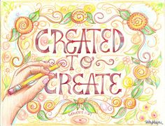 If you are a creator gifted by the Creator, then the best way to show Him your appreciation and worship is to use what He gave you to glorify His name and proclaim Him to others. Use your art as a testimony to the world, let it be your light shining bright.
