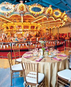 Please Touch Museums Carousel House is one of the unique wedding venues featured in Huffington Posts 8 Crazy Cool Places You Can Actually Get Married! Crazy Wedding, Wedding Dj, Free Wedding, Wedding Binder, Wedding Reception, Carrousel, Places To Get Married, Got Married, Philadelphia Wedding Venues