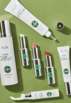 Introducing the brand new PUR Cosmetics CBD Collection launched on 420 with 7 hemp infused beauty products. Featuring balms, a highlighter, eye cream & more! Tinted Lip Balm, Lip Tint, Cracked Skin, Day Makeup, Without Makeup, Setting Spray, Summer Beauty, The Balm, Product Launch