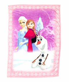 Another great find on #zulily! Frozen Characters Sherpa Blanket by Frozen #zulilyfinds