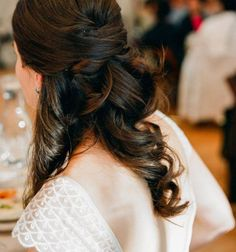 Half Up Wedding Hair Is The Perfect Style For Every Bride – Part I