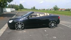 VW Eos with 20 inch audi s-line wheels
