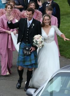 Andy Murray Weds Kim Sears At Dunblane Cathedral