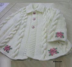 Inspiration only.  Lovely embroidery on a completed sweater