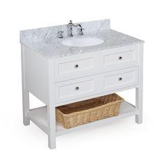 pottery barn bathroom vanity | Pottery Barn Look-Alike Single Sink Bathroom Vanities