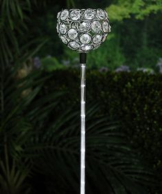 Look what I found on #zulily! Solar Flower Fiber Optic LED Stake #zulilyfinds