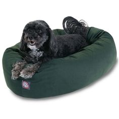 "Small 24"" Bagel Bed - Green"