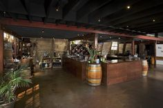 Carr Winery's Santa Barbara Barrel Room, Santa Barbara, California - Event and Wedding Locations - Santa Barbara Venues