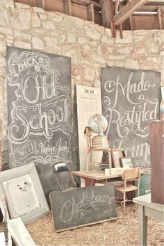 Vintage Junky - Creating Character: Bella Rustica 2012-  Love the Old School font !