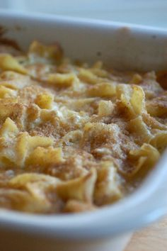 sweet kugel for Rosh Hashana