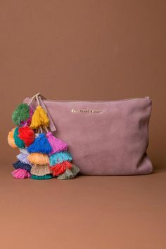 The Wolf Gang Bedouin Blush Clutch | SHOPTIQUES.COM saved by #ShoppingIS