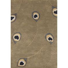 @Overstock - Add a stylish touch to your living room with this elegant hand-tufted wool rug. Featuring a 100-percent blended wool construction, it promises comfort and durability. The rug's stunning peacock design and rich color palette will complement your decor. http://www.overstock.com/Home-Garden/Hand-tufted-Peacock-Green-Wool-Rug-5-x-8/4608514/product.html?CID=214117 $135.99