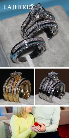 bridal sets & bridesmaid jewelry sets – a complete bridal look Bridal Ring Sets, Bridal Rings, Bridal Jewelry, Wedding Rings, Wedding Sets, Wedding Dreams, Shop Engagement Rings, Engagement Gifts, Wedding Engagement