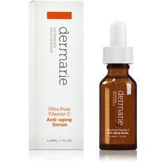 Dermarie Ultra Pure Vitamin C Anti-aging Face Serum, 1.0 oz. / 30 ml Dermarie http://www.amazon.com/dp/B00GG0I8LQ/ref=cm_sw_r_pi_dp_wDK3tb0F4CVXDKFK