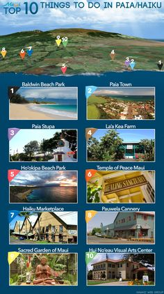 Top 10 Things to Do in Paia & Haiku! http://www.prideofmaui.com/blog/maui/paia-haiku-north-shore.html