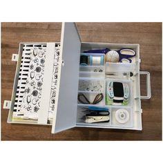 Sewing Box, Muji, Bookends, Life, Decor, Decoration, Decorating, Sewing Kits, Deco
