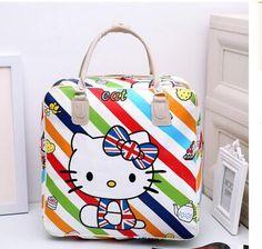 Hello Kitty Travel Shoulder Bag Purse