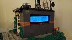 Internet of Lego: weather station lcd