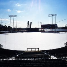 """""""Current wind chill at Harbor Park? Do we miss spring? Norfolk Tides, Harbor Park, Willis Tower, Chill, Conditioner, Surface, Ice, Pure Products, Spring"""