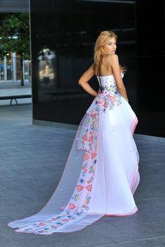 Polish folk inspired dress