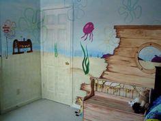 United SpongeBob: SpongeBob Bedroom