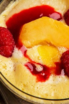 NYT Cooking: You will need fresh peaches for this dish, which requires a bit of finesse. Zabaglione is a traditional egg custard flavored with musky sweet Marsala wine. Other sweet wines may also be used, like sherry or spumante. It takes just a few minutes to make, whisking over a double boiler. Zabaglione can be served hot, but in summer it is better cool. The faint butterscotc...