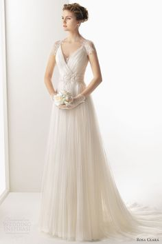 pretty draped dress