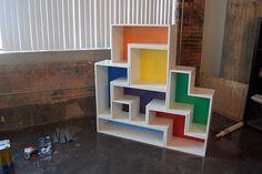 Tetris or bookshelf?
