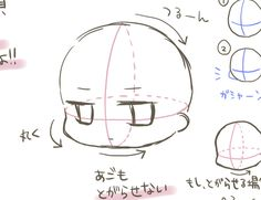 「デフォルメの描き方」体、頭、デフォルメ描き方講座ストック - 絵師ラボ