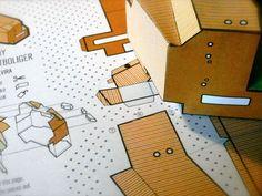 Maqueta Teknotoy, proyecto casa de estudiantes de Murado