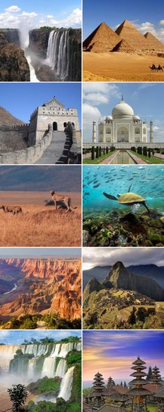 My Picks: Top 100 Wonders of the World Challenge #Fave389345