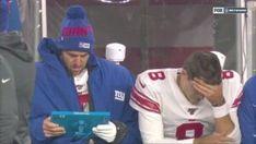 Meme's the Word: NY Giants Daniel Jones and Eli Manning Get Meme'd Nfl Football Teams, Football Memes, Nfl Sports, Steeler Nation, Nfl News, New York Giants, Espn, Baseball Cards, Pittsburgh