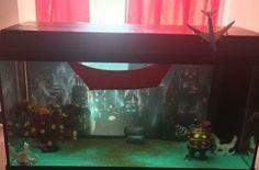 Bioshock aquarium // Rapture fish tank