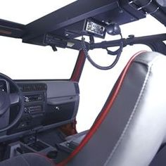 Overhead Security Console for Jeep Wrangler, TJ, YJ, CJ-7, CJ-5 and custom fj40