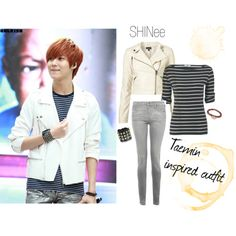 Kpop fashion SHINee's Lee Taemin by Polyvore