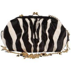 DOLCE & GABBANA Medium leather bag ($980) ❤ liked on Polyvore