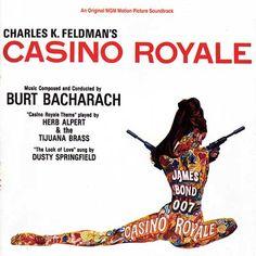 Casino Royale art work designed by Robert McGinnis - 1967
