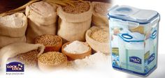 Now deter #bugs from your #flour for life time by storing them in #Lock & Lock storage container that are 100% airtight & safe.