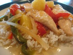 Crockpot Cantonese Sweet and Sour Chicken