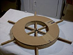 My Pirate Costume Ship's Wheel! – Roxana My Pirate Costume Ship's Wheel! My Pirate Costume Ship's Wheel!: 12 Steps (with Pictures) Pirate Birthday, Pirate Theme, Birthday Board, Sailor Birthday, Sailor Party, Card Birthday, Pirate Ship Wheel, Pirate Ships, Pirate Ship Craft