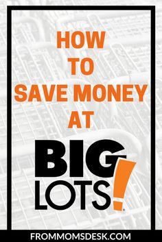 How to Save Money at Big Lots - Find out how you can use coupons, rewards, and other perks to save money while shopping at Big Lots! Save Money On Groceries, Ways To Save Money, Money Tips, Money Saving Tips, Earn Money, How To Make Money, Saving Ideas, Frugal Living Tips, Frugal Tips