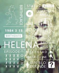 helena Orphan black