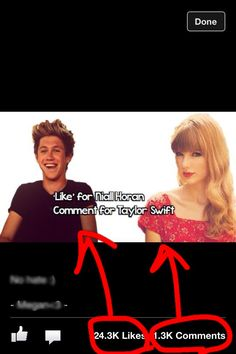 Wait... What does this mean?? If it is who's my favorite I choose Nialler, obviously but what does this mean?