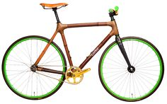#Calfee #Bamboo #fixxie    Titanium horizontal dropouts allow for fixed gear, single speed or internal geared build options.
