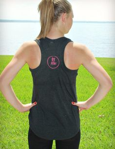 """the back of our """"take care of it"""" tee is simple and cute! now in neon yellow!"""